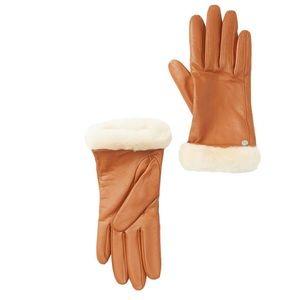 UGG leather gloves